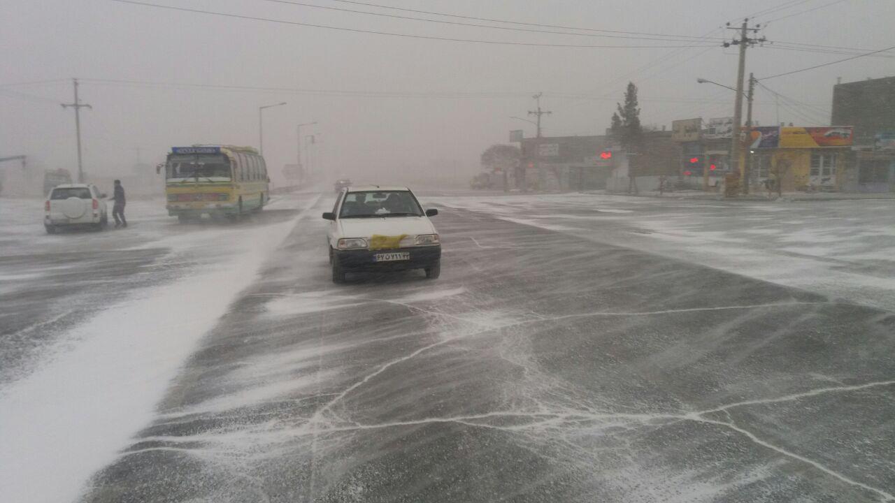 باران و برف در راه خراسان رضوی