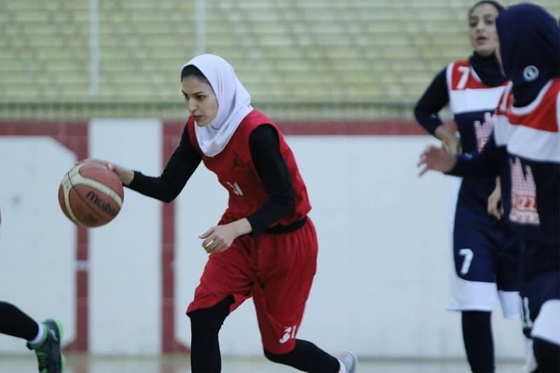 دومین پیروزی تیم بسکتبال بانوان صدرا شیراز در لیگ برتر کشور