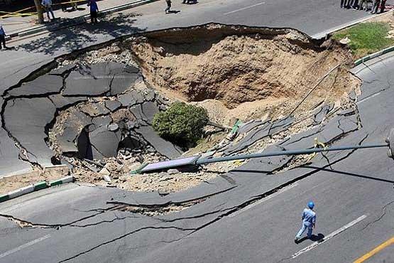 افزایش فرو ریزش زمین؛ زنگ خطری برای تهران