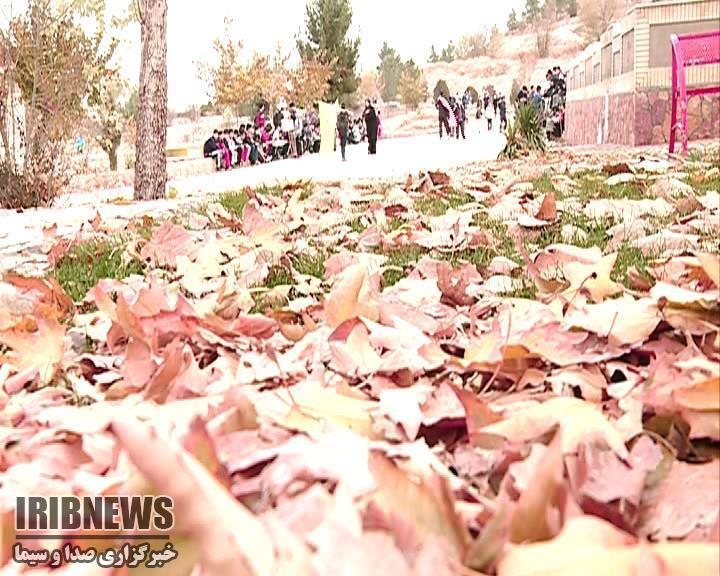 جاده سلامت بجنورد پیادهروی دانشآموزان بجنوردی