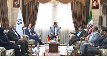 دیدار معاون سفیر آلمان با استاندار هرمزگان