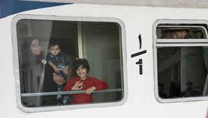 ورود نخستین قطار مسافربری ارومیه به مشهد مقدس