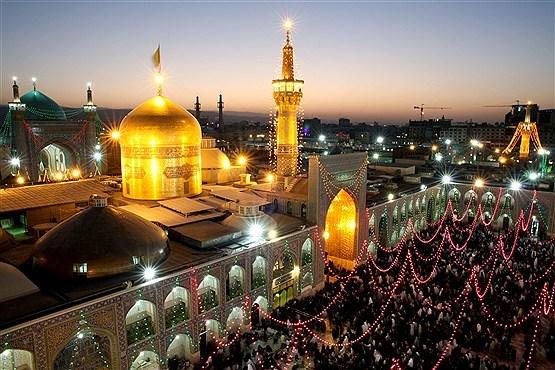 برگزاری جشنهای میلاد پیامبر رأفت با حضور شیعیان و اهل سنت در حرم رضوی