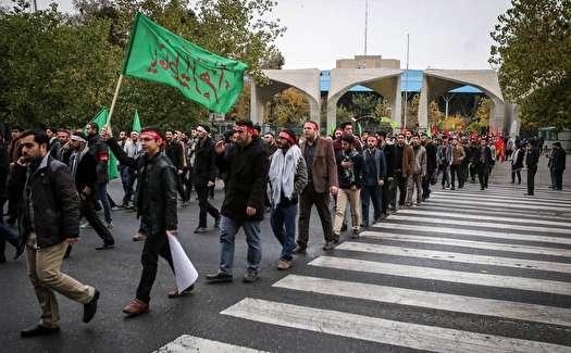 عزاداری دانشجویان از دانشگاه تهران تا بیت رهبری