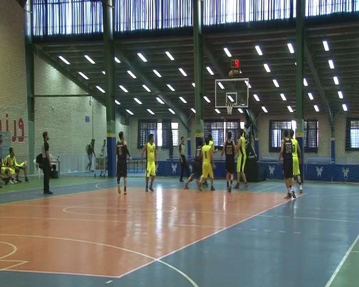 تیم بسکتبال نجف آباد قهرمان مسابقات