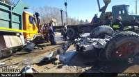 تصادف در جاده شیراز - خان زنیان
