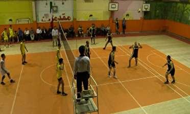 شکست نماینده مهاباد درلیگ دسته یک والیبال نوجوانان کشور