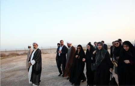 بازدید اعضای کمیسیون فرهنگی مجلس از مراکز و محله های حاشیه نشین بندرعباس