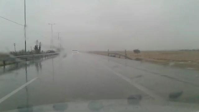 لغزندگی  و مه آلودگی محورهای مواصلاتی استان اصفهان