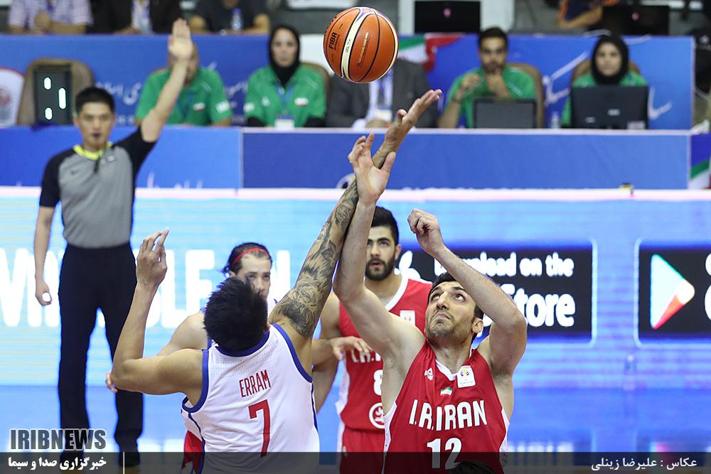 رقابت ایران و استرالیا از نوع بسکتبال