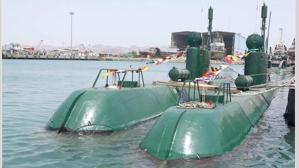 پیوستن دو فروند زیردریایی به ناوگان نیروی دریایی