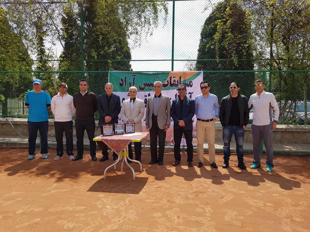 با حضور 65 تنیسور قمی، قهرمان مسابقات آزاد تنیس