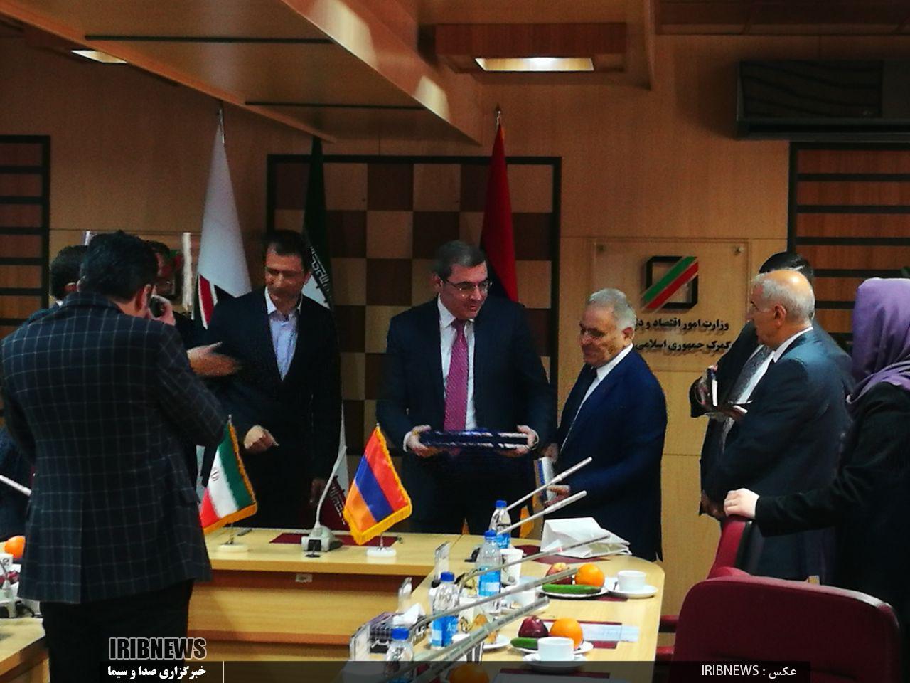 امضای یادداشت تفاهم تبادل ارزش گمرکی با ارمنستان - 9