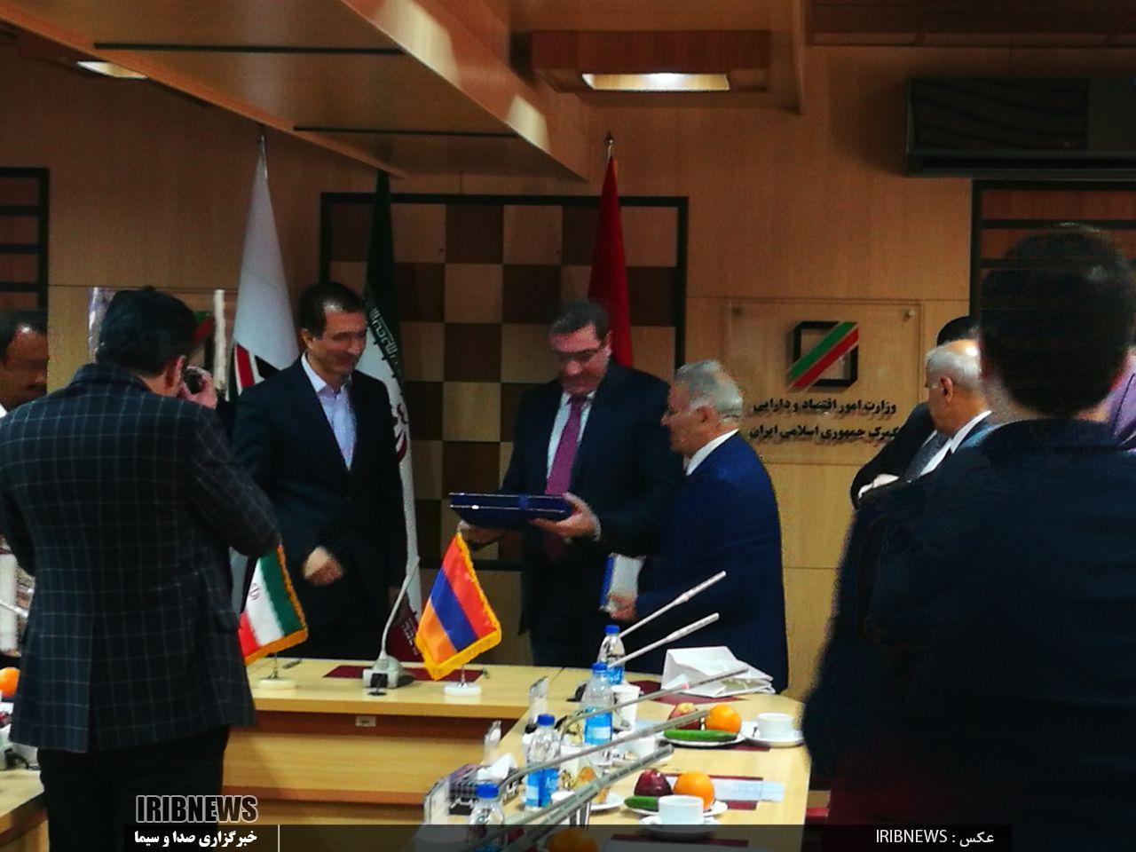 امضای یادداشت تفاهم تبادل ارزش گمرکی با ارمنستان - 10