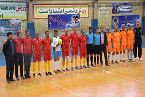 قهرمانی تیم جانبازان نجف آباد