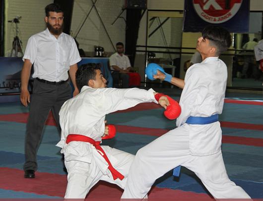 مبارزه کاراته کاها - 0