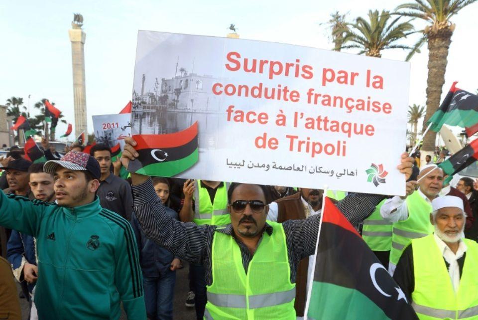 طرابلس علیه حفتر و فرانسه