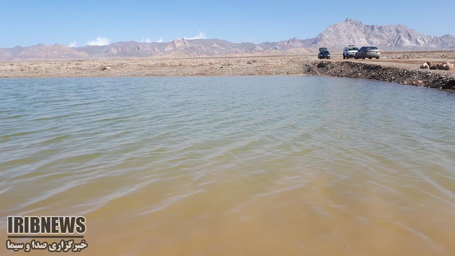 آبگیری بند آبخیزداری و پخش سیلاب طالمسی انارک