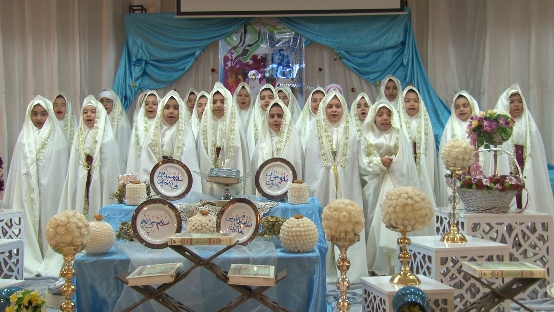 جشن تکلیف در میمه برگزار شده برای دختران نوجوان