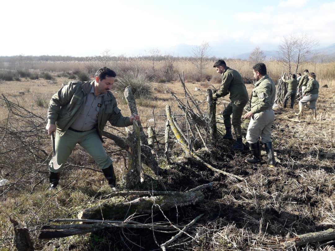 رفع تصرف زمینهای تالاب جوکندان تالش