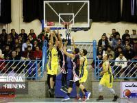 پیروزی بلندقامتان خانه بسکتبال کردستان برابر حریف تهرانی