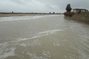 سیلاب و تخلیه ۶ روستا در شهرستان کنارک