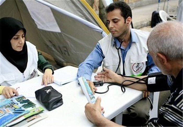 خدمات رسانی جامعه پزشکی استان یزد به سیل زدگان سیستان وبلوچستان