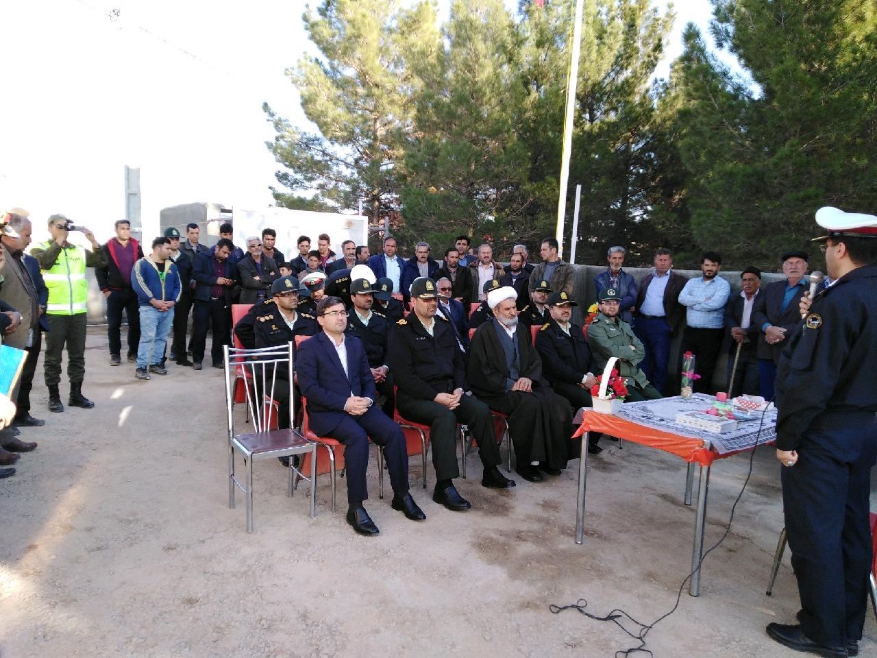 افتتاح پاسگاه پلیس راه جغتای - جاجرم در جغتای