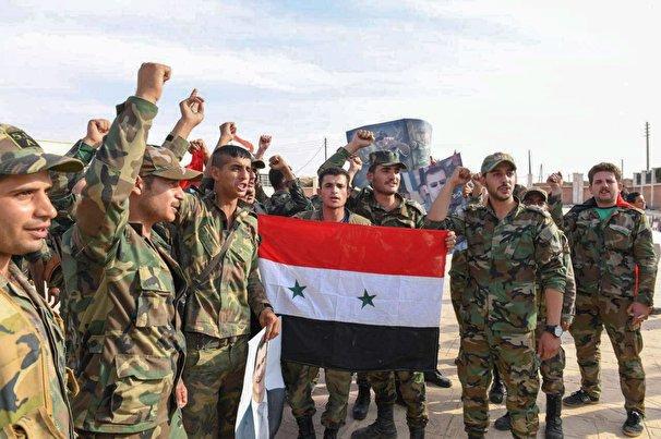 ورود ارتش سوریه به شهر سراقب