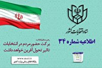 تمدید اخذ رای در برخی حوزه های فارس