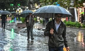 بارش باران در نقاط مختلف آذربایجان غربی