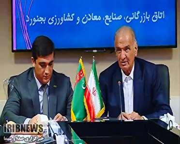 سفر سر کنسول ترکمنستان به خراسان شمالي