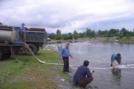 رها سازی بچه ماهیان در بزرگترین رودخانه گیلان