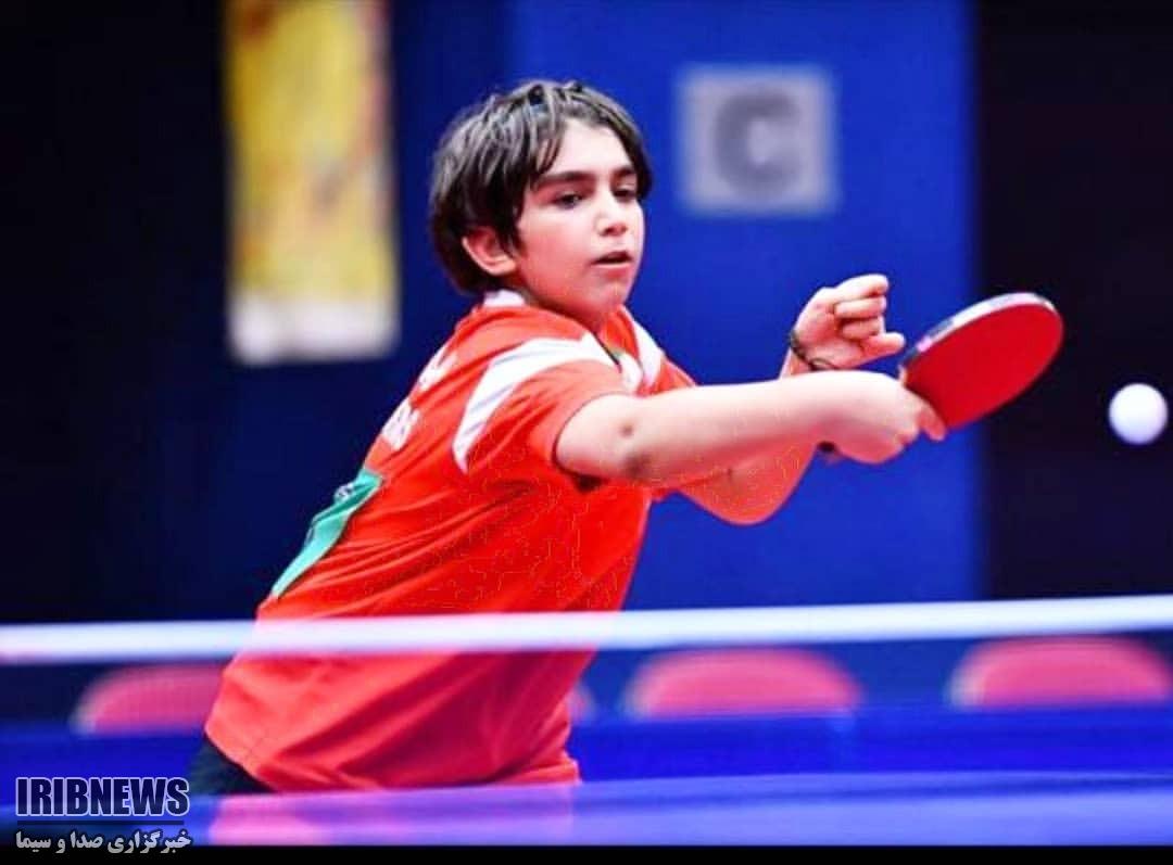 درخشش ورزش البرز نوجوان البرزی عازم مسابقات جهانی تنیس رویمیز