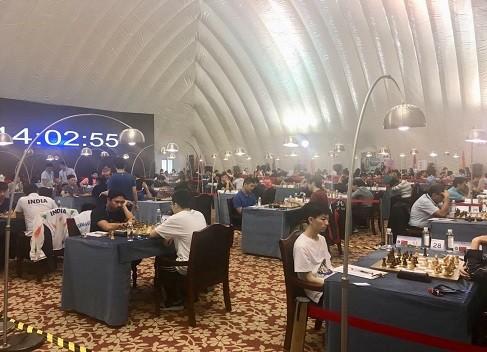 در دور پنجم مسابقات قهرمانی آسیا؛ پیروزی ایدنی، تساوی مقصودلو و شکست فیروزجا