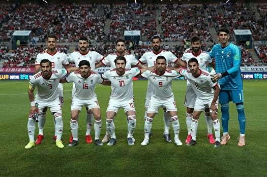 تیم ملی ایران اول آسیا، بیستم جهان