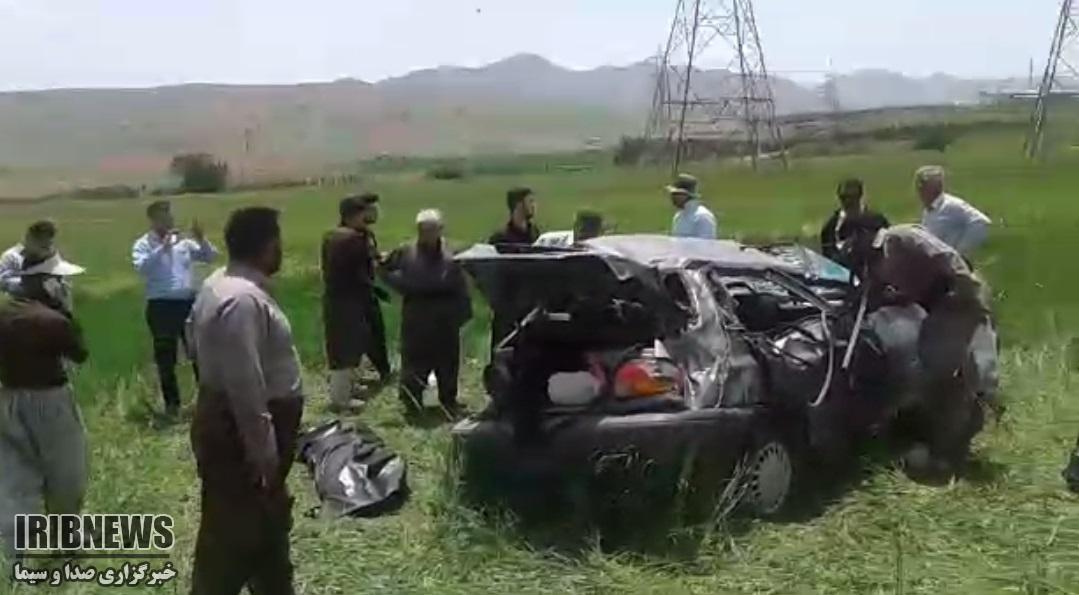 یک کشته در حادثه رانندگی در سقز