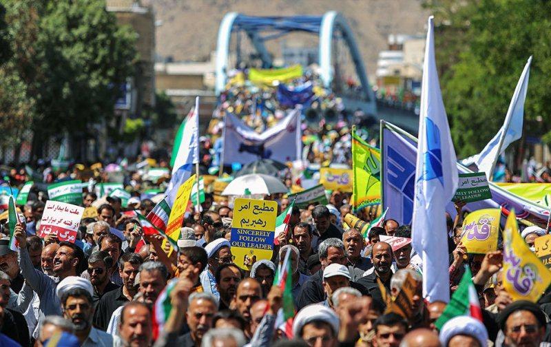 اعلام مسیرهای راهپیمایی روز جهانی قدس