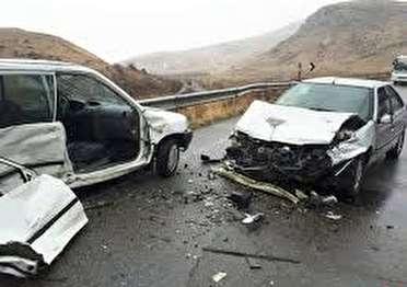 چهار کشته و مصدوم در حادثه رانندگی در خنداب