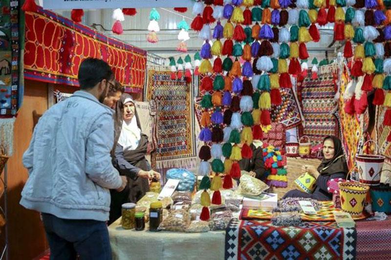 نمایشگاه سراسری صنایع دستی  در اراک
