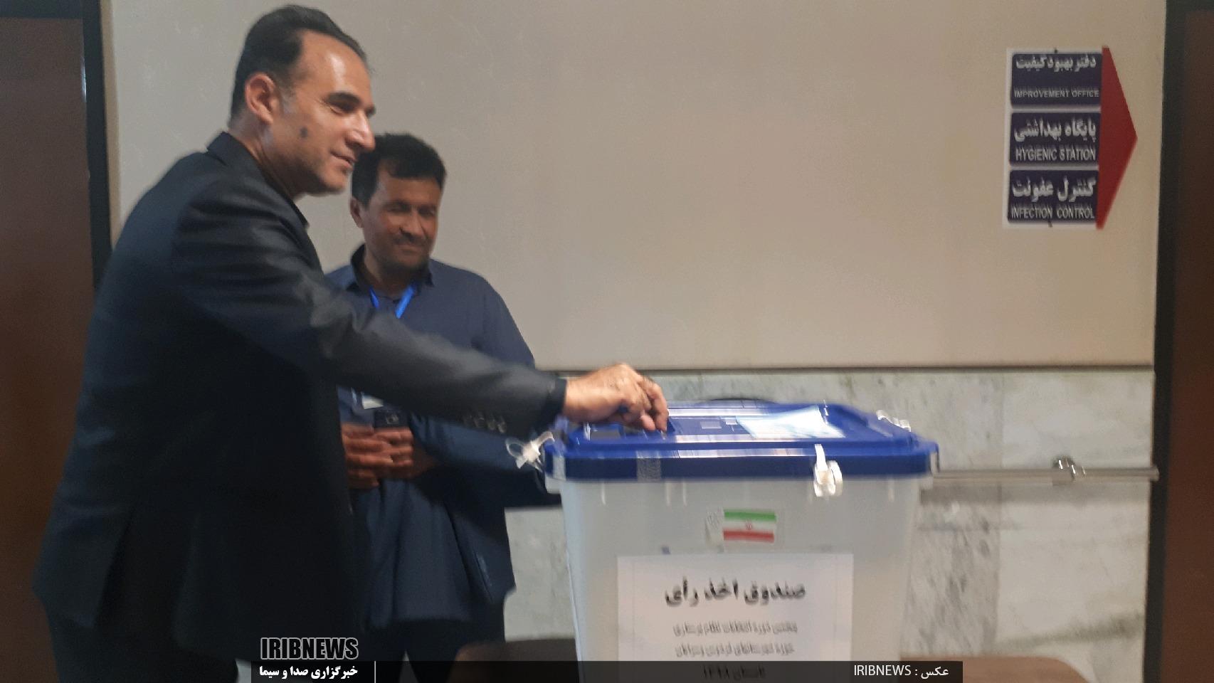 انتخابات نظام پرستاری همزمان با سراسر کشور در فردوس