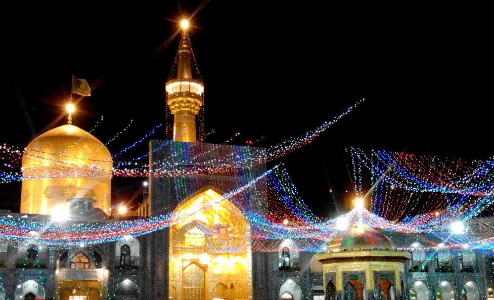 برنامههای شب و روز میلاد امام رضا(ع) در حرم رضوی