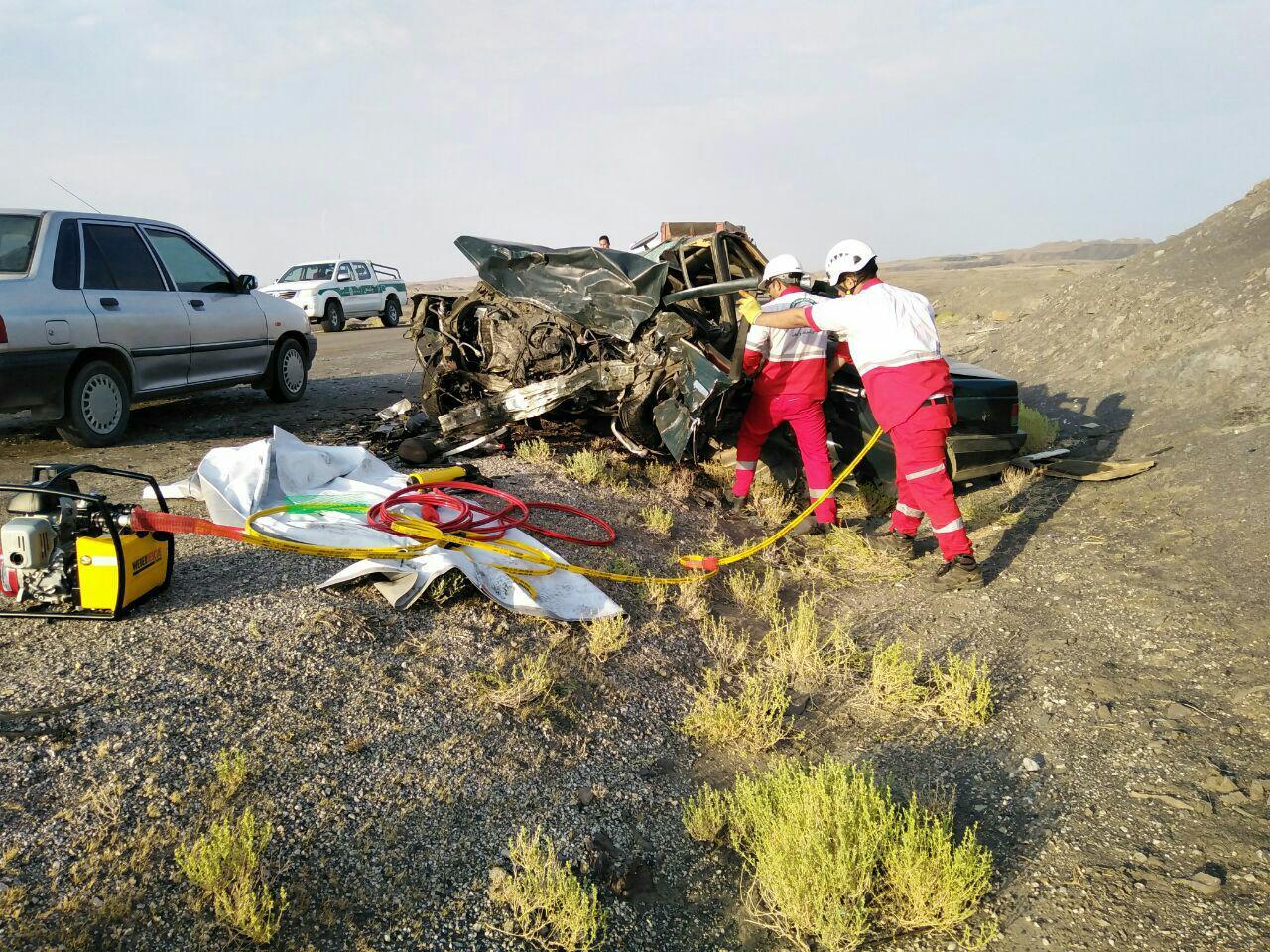 4 کشته و 7 زخمی در حادثه محور طبس – یزد