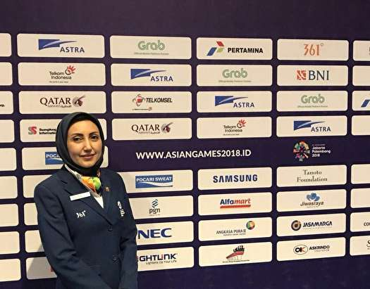 بانوی ایرانی، داور تنیس روی میز المپیک شد