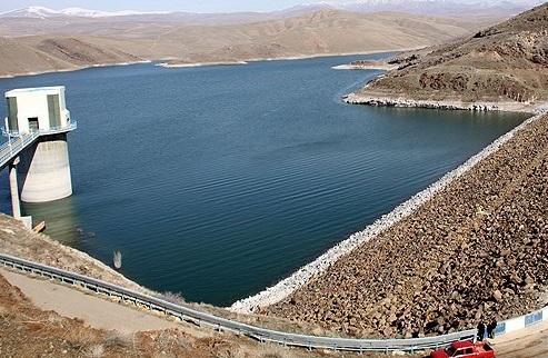 افزایش ۷۵ درصدی حجم ورودی آب به سدهای آذربایجان شرقی