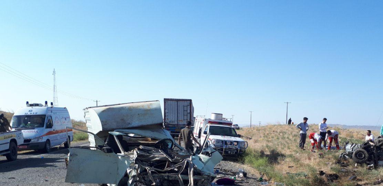 سانحه رانندگی در محور سبزوار - بردسکن با 3 کشته