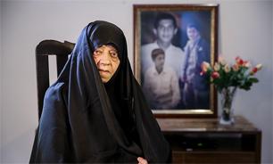 مادر شهیدان «شاهنده» آسمانی شد