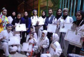 موفقیت دختران اندیکایی در مسابقات کشوری