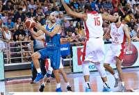 شکست بسکتبال ایران مقابل یونان