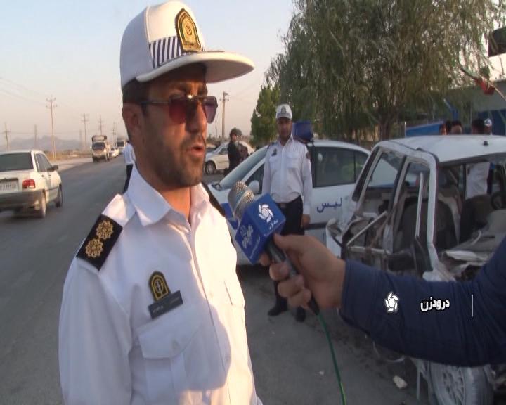مرگ ۴۰۰ نفر در جاده های فارس |  در کمتر ۱۳۰ روز